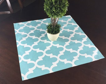 SALE! -  Blue Table Square - Table Square- Blue Kitchen Table Square - Kitchen Table Square - Table Square