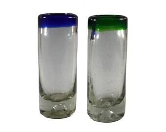 Blown Shot Glasses (Set of 3)