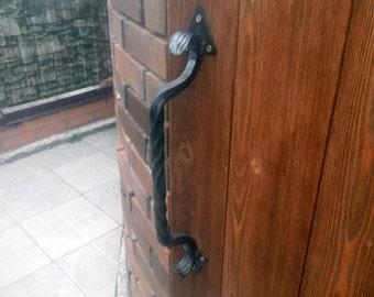 Hand forged door knob
