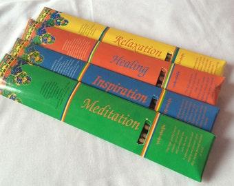 Tibetan Meditation, Healing, Relaxation Inspiration Nuns Handmade Incense Stick NEPAL