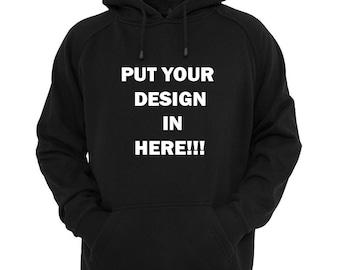 Custom hooded sweatshirt! Adult and Youth Size.