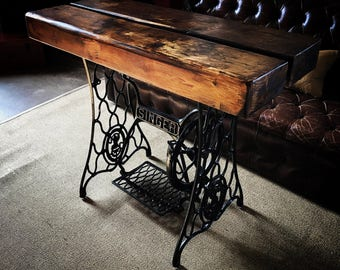 Singer Sewing Machine Table (wide)