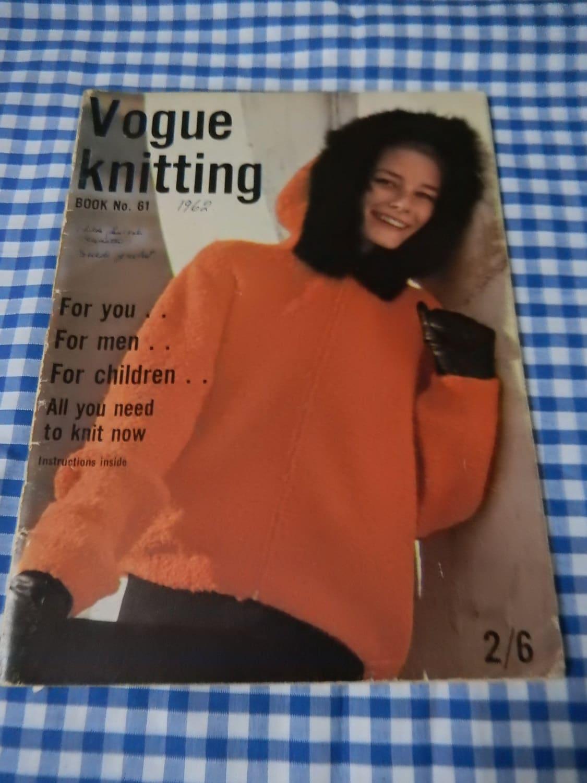 Vintage vogue knitting book no 61 1962 original fashion details vogue knitting bankloansurffo Choice Image