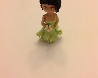 Princess inspired and the frog cake decoration.