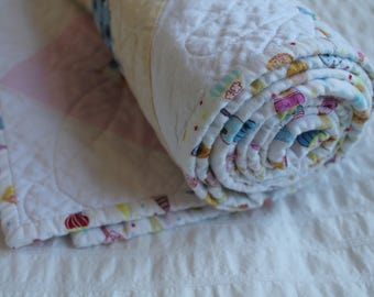 100% Cotton Triangle Quilt