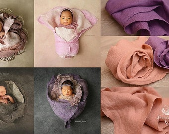 Newborn Baby Photo Prop Blanket