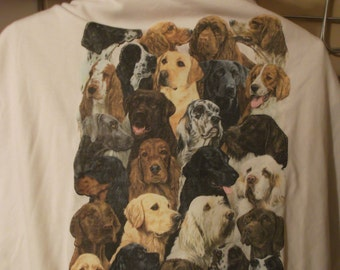 Best Friends Dog collage White 2XL Never Been worn