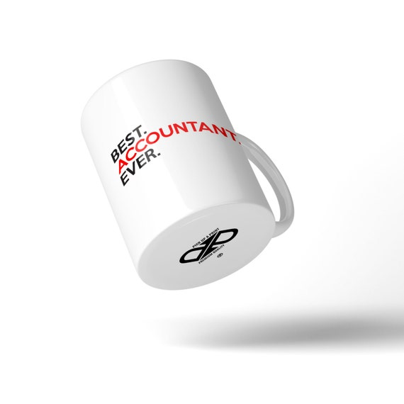 Best Accountant Ever Mug - Great Gift Idea Stocking Filler