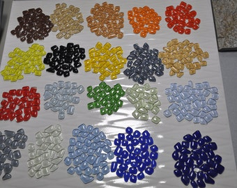 Glass small pebbles/Glass tiles/Mosaic tiles/Mosaic craft/Decorative mosaic/Gems stone |