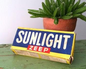 Vintage packaging 'Sunlight' soap
