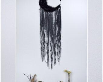 Dream catcher Moon Black