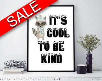 Wall Art Kindness Digital Print Cool Poster Art Kindness Wall Art Print Cool Kids Art Cool Kids Print Kindness Wall Decor Kindness