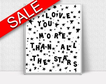 Wall Art Kids Digital Print Kids Poster Art Kids Wall Art Print Kids Nursery Art Kids Nursery Print Kids Wall Decor Kids I Love You Print