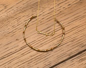 Branch Cuff Bracelet, Gold