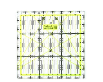 1pcs Home Garden Arts Crafts Sewing Needle Arts Craft Sewing Tools Accessory 15 * 15cm*0.2cm Patchwork Ruler