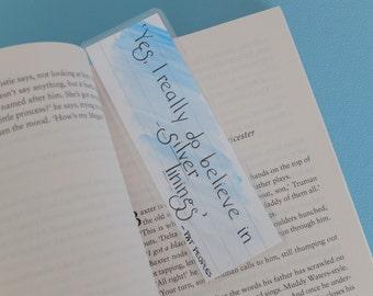 Custom quote bookmark