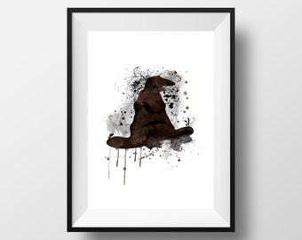 Harry Potter, Sorting Hat, Hogwarts *Print*