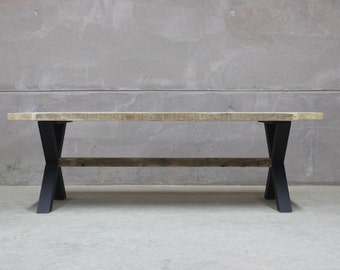Reclaimed Wood Rustic Dining Table (King's Cross)