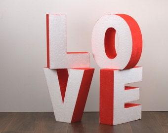 Styrofoam Letters Etsy