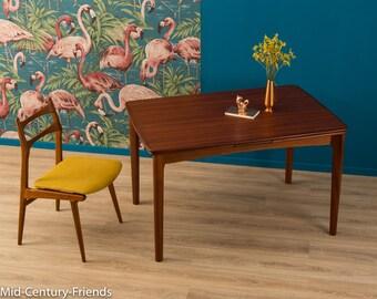 TEAK 60s dining table, table, 50's, vintage (610023)