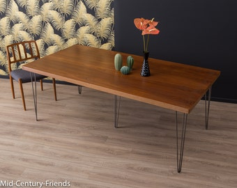 XXL 60's dining table, table, 50's, vintage (701008)