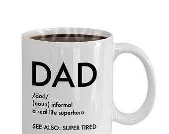 Gift for Dad, Dad mug, Dad Christmas Gift, Funny Dad Gift, Dad coffee mug, Gifts for Husband, Dad gifts, New dad gifts, Father Daughter gift