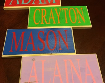 Custom name signs, create your own sign