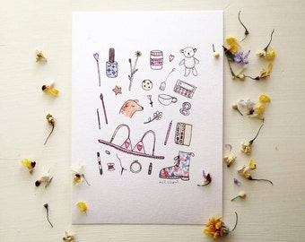 Little Things print, various sizes