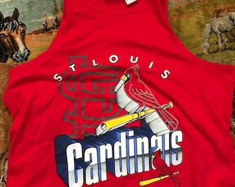 Vintage St Louis Cardinals tank top XL