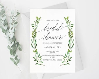 bridal shower invitation template rustic bridal shower wedding printable wedding shower template shower - Wedding Shower Invites