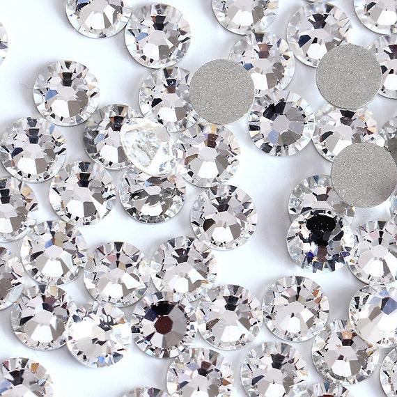 100 Pcs Crystal Ss3 Ss4 Ss5 Ss6 Ss8 Ss10 Rhinestones Type