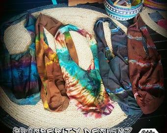 Handmade Tye Dye Hippie Shoulder bags