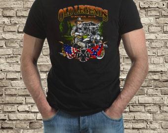 Old legends Bike t-shirt