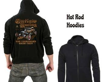 Zipper hoodie Outlaw racing