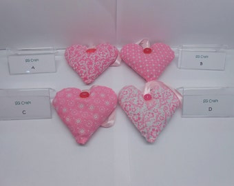 Lovely Scented Hanging Lavender Hearts