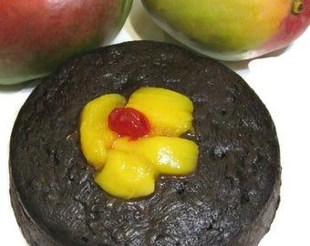 Free Shipping, Mango Cherry Fruit Cake, Jamaican Rum Cakes or Black Cakes, Edible, Sweet Caribbean Treat