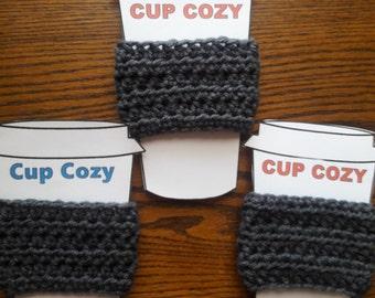 Set of three cup cozy' s