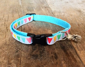 Celebration cat collar