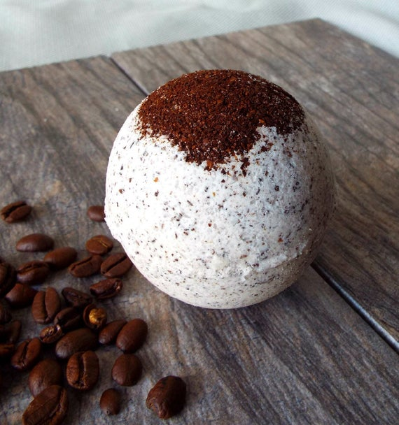Coffee Scented Bath Bomb