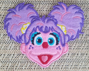 Abby Cadabby inspired iron on patch