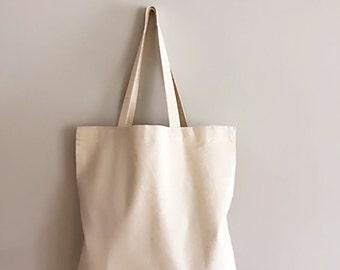 High quality Plain canvas tote bag for DIYs