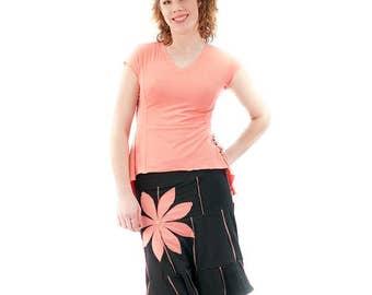Bamboo flower skirt