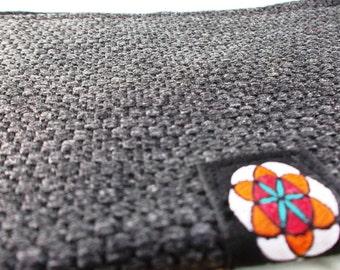 SHREEM Handmade Textured Quality Fabric Bifold Folding Flat Wallet