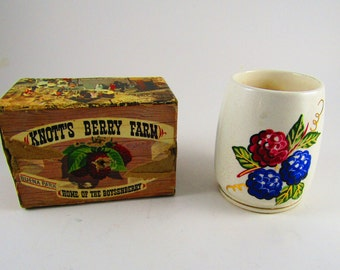 Knotts Berry Farm Jam/Jelly Jar and Box