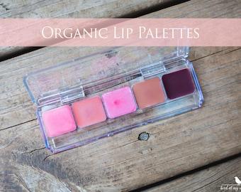 Organic Lip Palette, Organic Lips