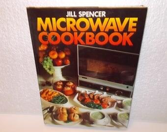 Jill Spencer Microwave Cookbook, (c) 1978, ISBN:0-600-36282-5