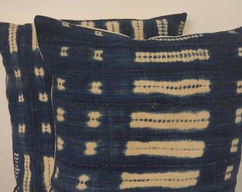 Indigo Pillow Cover
