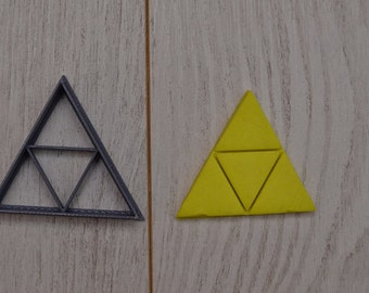 Legend of Zelda TriForce / Link / Nintendo / Cookie Cutter made in USA