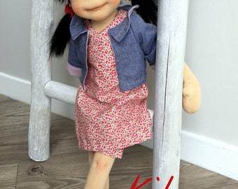 Kibo  -  Natural fiber doll