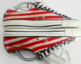 Vintage Converse Amarica Flag Discount 10% For This Items